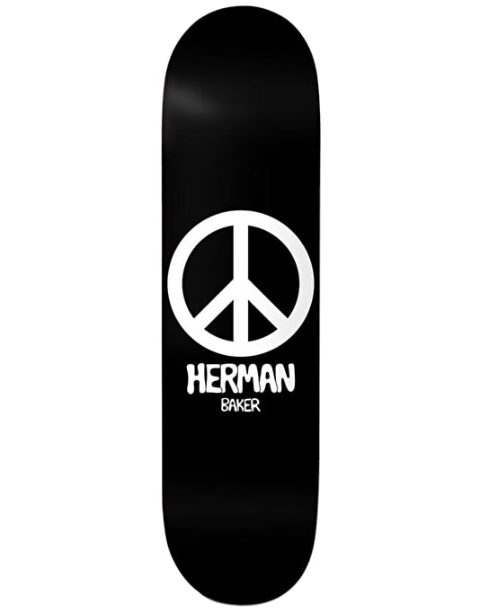 Baker Herman Peace Skateboard Deck - 8.475""