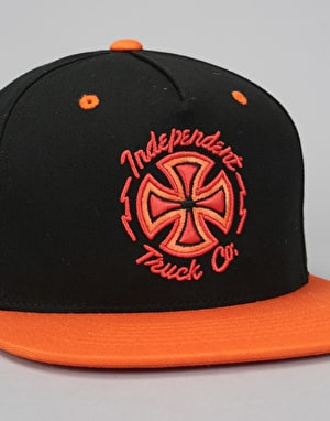 Independent Voltage Snapback Cap - Black/Orange