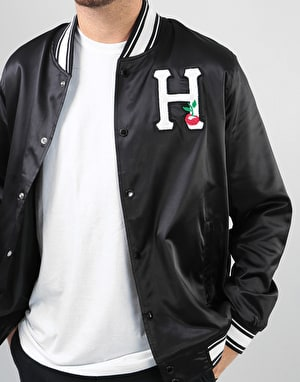 HUF x Felix The Cat Felix Satin Jacket - Black
