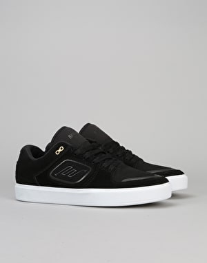 Emerica Reynolds G6 Low Vulc Skate Shoes - Black/White