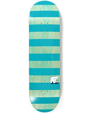 Polar x Dear x Ron Chatman Block Stripe Skateboard Deck - 8.625