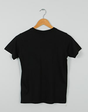 Santa Cruz Check Waste Dot Boys T-Shirt - Black