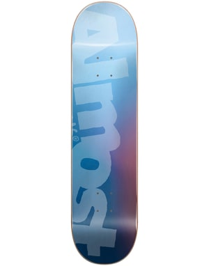 Almost Side Pipe Blurry Skateboard Deck - 8.5