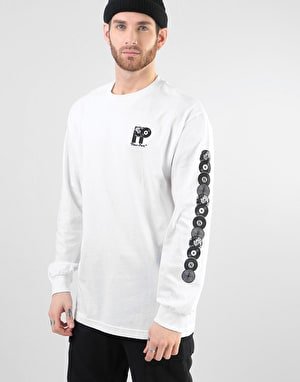 Pass Port PP World Records L/S T-Shirt - White