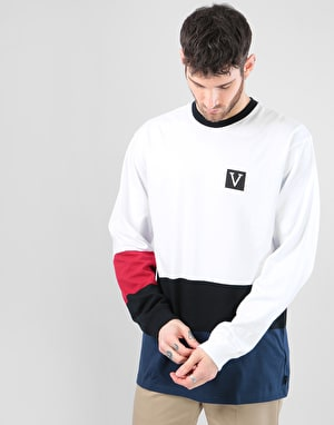 Vans x Chima Colour Block L/S T-Shirt - White