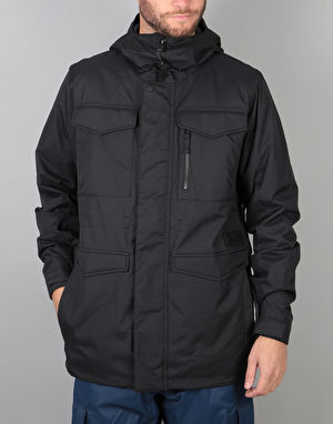 Burton Covert Insulated 2018 Snowboard Jacket - True Black