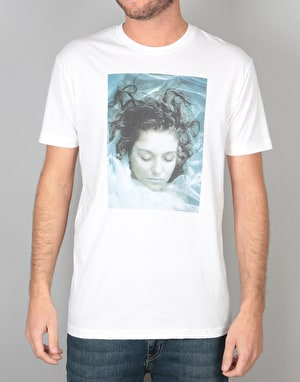 Habitat x Twin Peaks Laura in Plastic T-Shirt - White