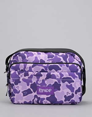 RIPNDIP Invisible Shoulder Bag - Purple Camo