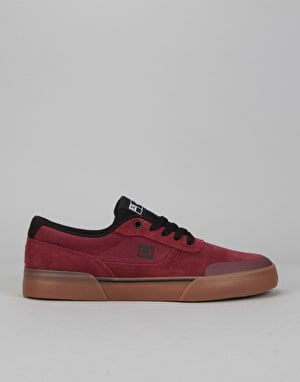 DC Switch Plus S Skate Shoes - Maroon