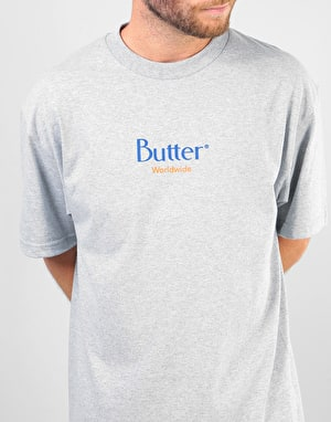 Butter Goods Classic Logo T-Shirt - Heather Grey