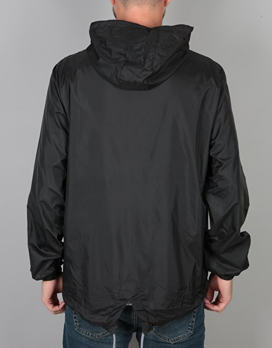 Hype Fishtail Pullover Jacket - Black