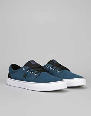 DC Trase S Skate Shoes - Deep Water
