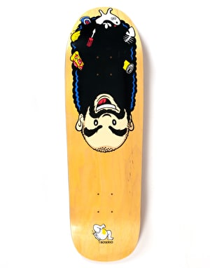 Polar Boserio Upside Down Skateboard Deck - The Beast Shape 9.75