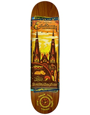 Anti Hero Daan Maps to the Skaters Homes Skateboard Deck - 8.12