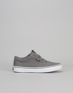 Vans Winston Boys Skate Shoes - Canvas Pewter