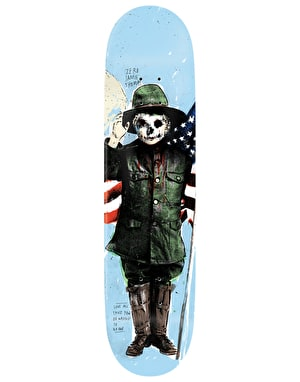 Zero Thomas Best Wishes Skateboard Deck - 8