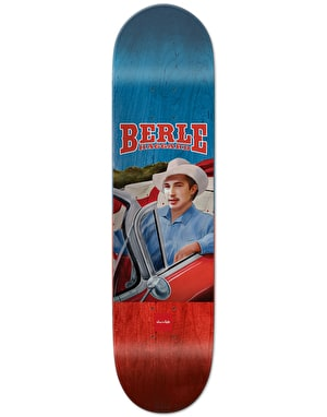 Chocolate Berle Outlaw Pro Deck - 8.375