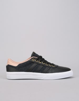 Adidas Lucas Premiere Skate Shoes - Core Black/Ash Pearl/Gold Metallic