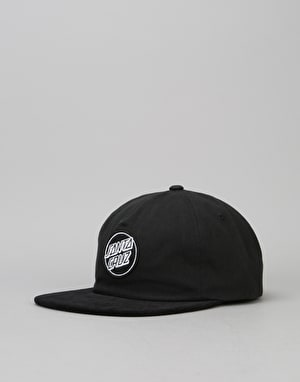 Santa Cruz Lot Strapback Cap - Black