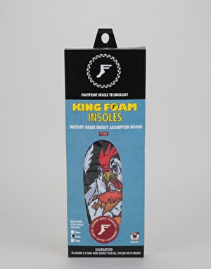 Footprint Romar King Foam 5mm Flat Insoles