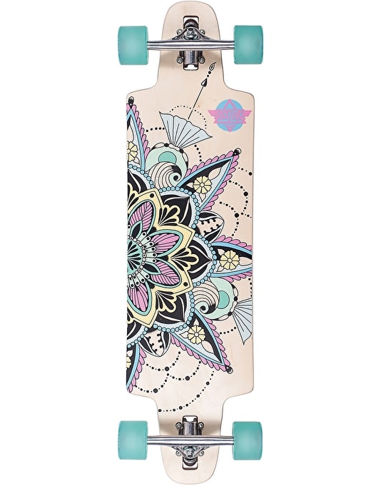 "Dusters Vida Drop Through Longboard - 36"" x 9.5"""