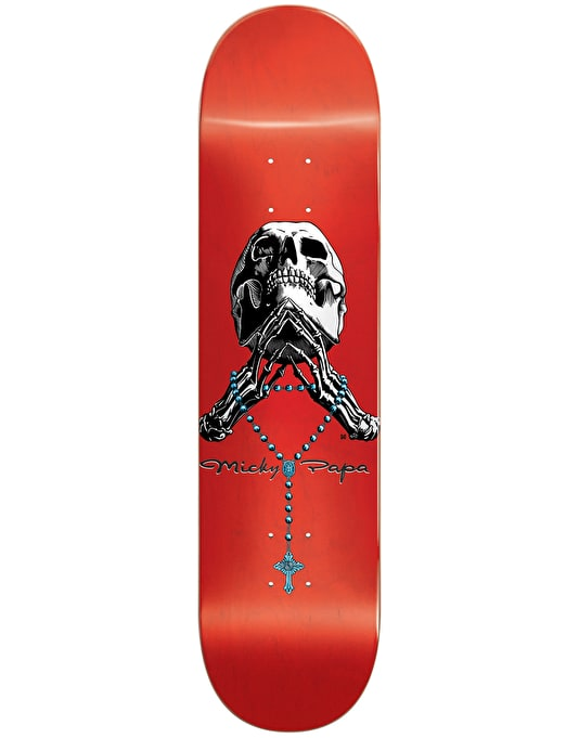 Blind Papa Tribute Rosary Skateboard Deck - 8""