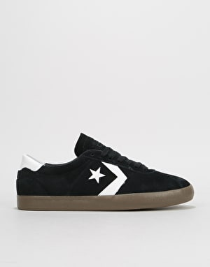 Converse Breakpoint Pro Ox Skate Shoes - Black/White/Gum