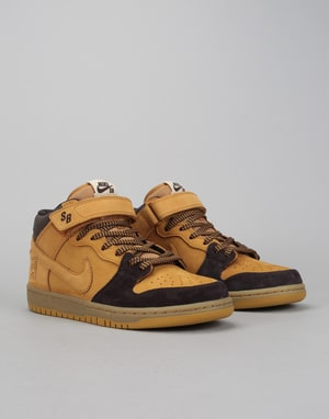 Nike SB Lewis Marnell Dunk Mid Pro QS Skate Shoes - Cappucino/Bronze