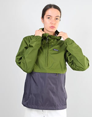 Patagonia Womens Torrentshell Pullover Jacket - Sprouted Green