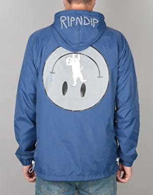 RIPNDIP Everything Will Be OK Anorak Jacket - Navy Blue