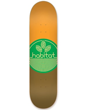 Habitat Leaf Dot Skateboard Deck - 8.25