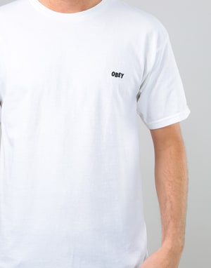 Obey Palace of Power T-Shirt - White