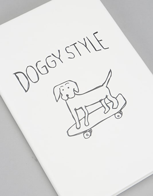 Route One Doggy Style Notebook - White