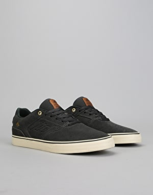 Emerica The Reynolds Low Vulc Skate Shoes - Dark Grey