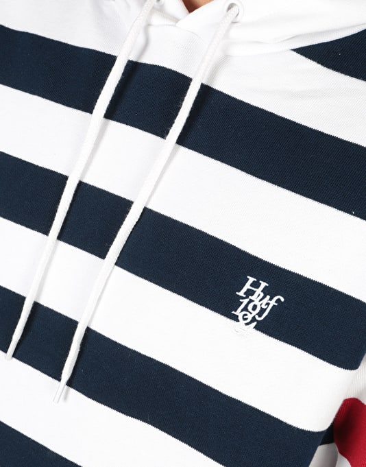 HUF Kennedy Pullover Hoodie - White