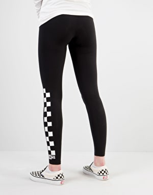 Vans Womens Chalkboard Check Leggings - Black