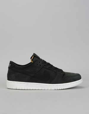 Nike SB Zoom Dunk Low Pro Decon Skate Shoes - Black/Black-White