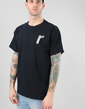 Rave Classic R T-Shirt - Black/Reflective