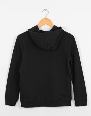 Element Blazin  Boys Zip Hoodie - Flint Black