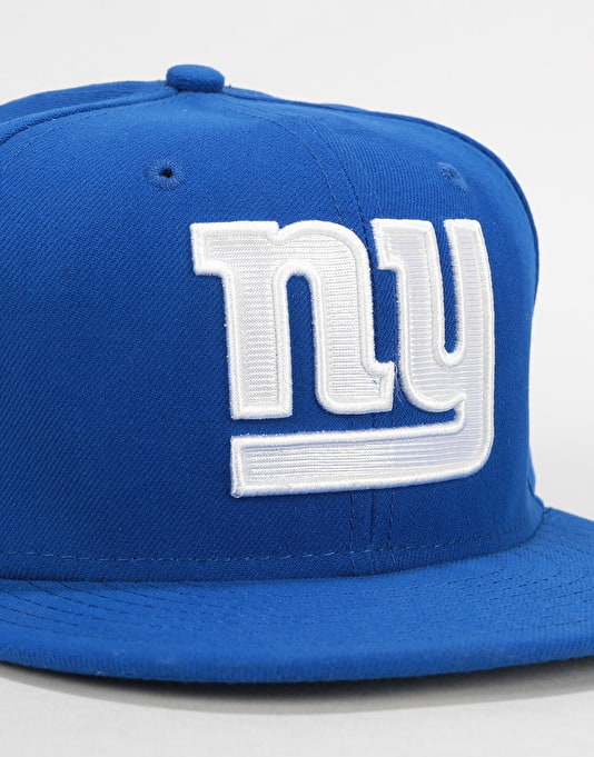 New Era 59Fifty NFL New York Giants Fitted Cap - Royal Blue