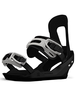 Switchback Destroyer 2018 Snowboard Bindings - Black/White