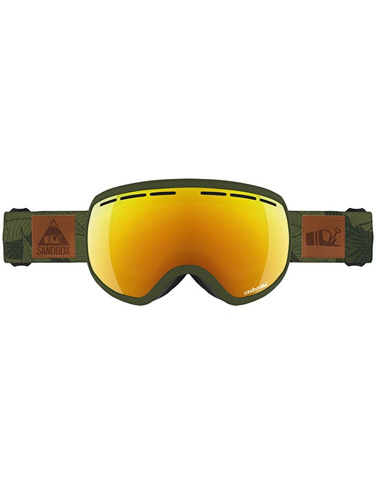 Sandbox The Boss 2019 Snowboard Goggles - Jungle/Gold Ion