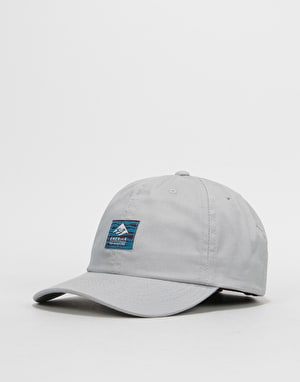 Emerica x Toy Machine Toy Decontructed 6 Panel Cap - Light Grey