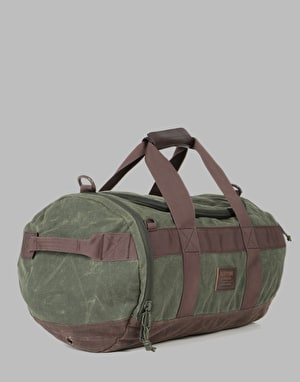 Burton Backhill 40L Duffel - Forest Night Waxed Canvas