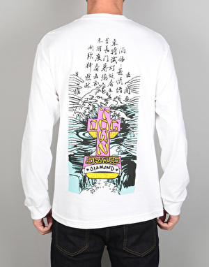 Diamond x Dogtown A.Murry L/S T-Shirt - White