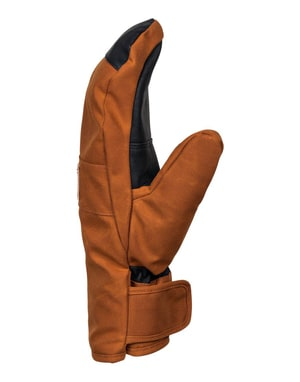 DC Franchise SE 2018 Snowboard Mitts - Leather Brown