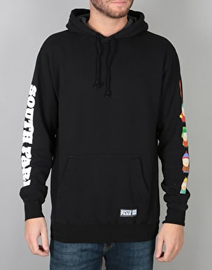HUF x South Park Kids Pullover Hoodie - Black