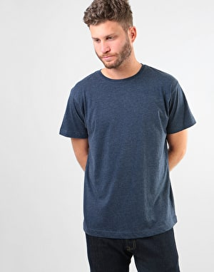 Original Cat Finger T-Shirt - Navy Marl