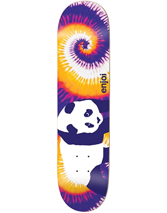 Enjoi Custom Tie Dye Skateboard Deck - 8.25""