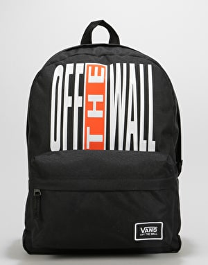 Vans Realm Classic Backpack - Black/Flame